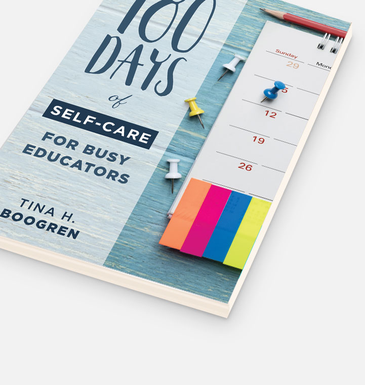 180 Days of Self-Care for Busy Educators cover